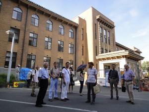 山梨県庁別館の外観。1930(昭和5)年の創建時の姿によみがえった
