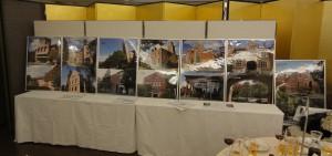 今出川キャンパスの写真パネル